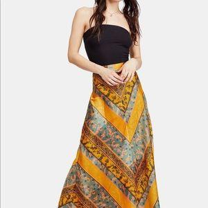 Free People Rio Maxi Skirt Size 4